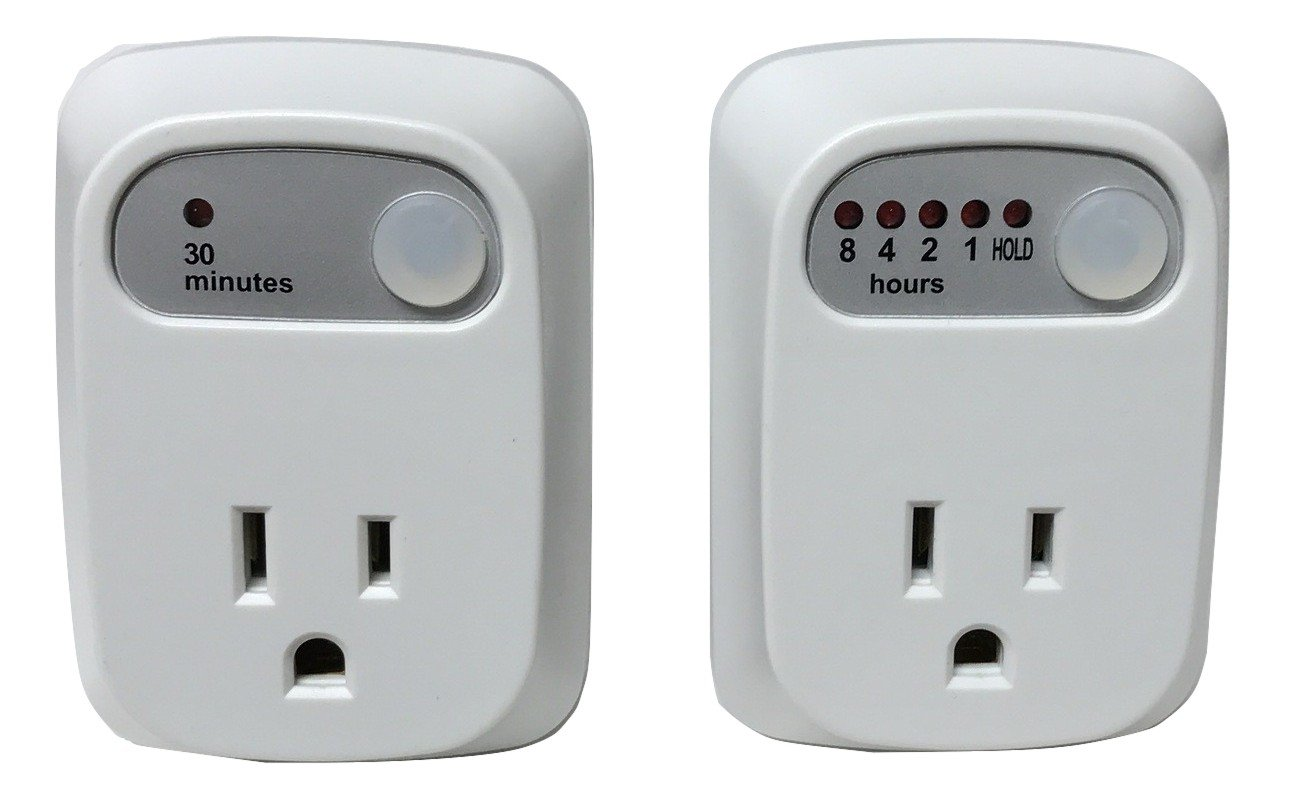 Simple Touch 2-Piece Combo Pack 30 Minute Auto Shut-Off Saftey Timer & Multi Setting Auto Shut-Off Timer by Simple Touch (Image #1)