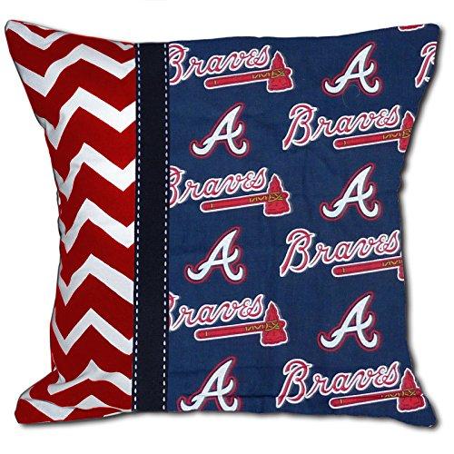 Atlanta Braves Pillow - NEW Premium Baseball Decorative Throw Pillow