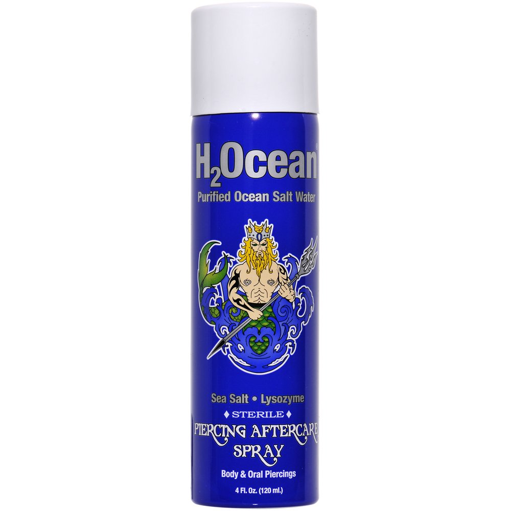 H2Ocean 4oz Piercing Aftercare Spray