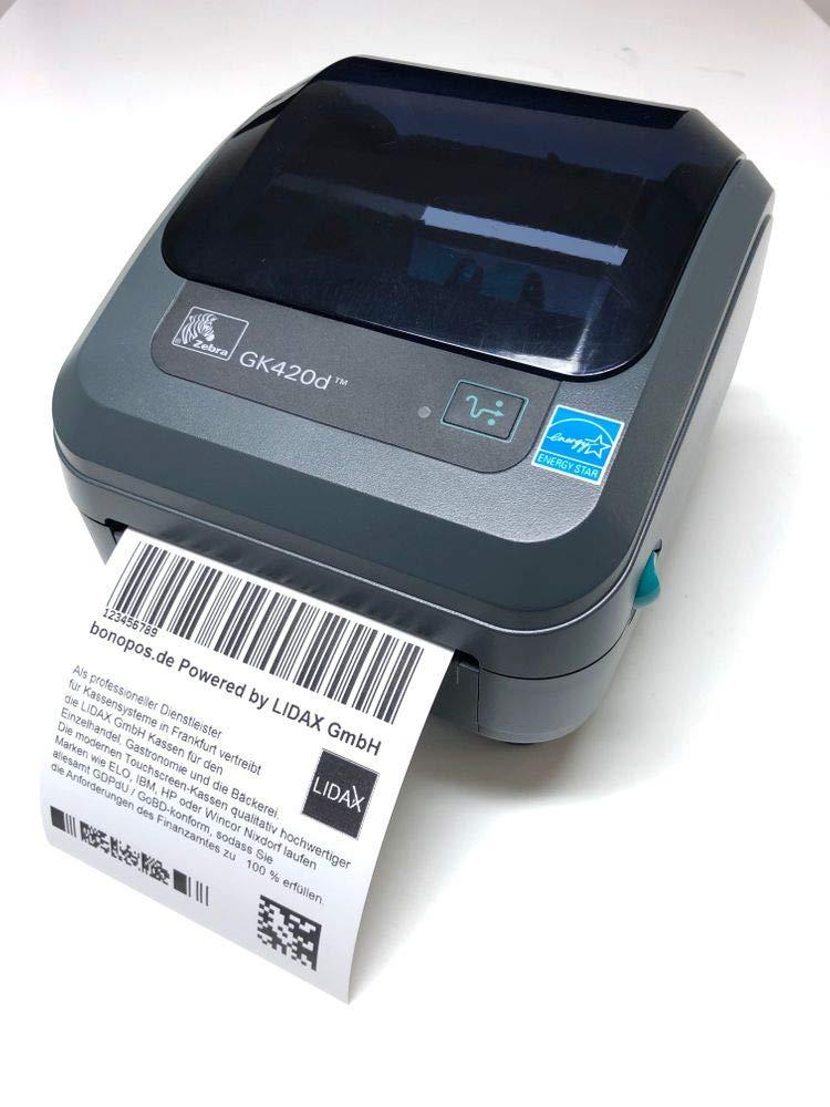 Zebra GK420d (Rev  2) Label Printer [USB & Ethernet]: Amazon