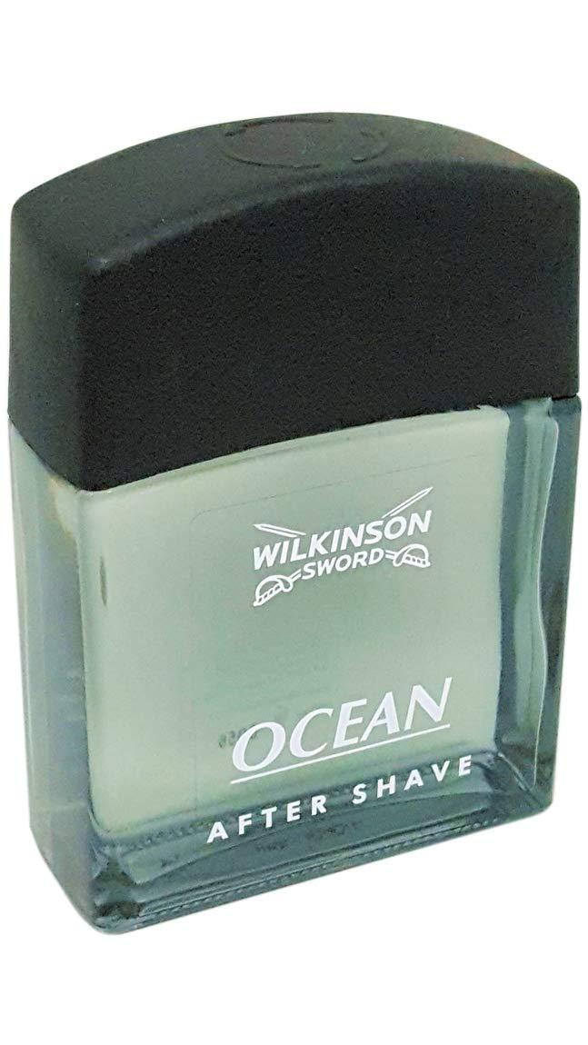 Wilkinson Sword After Shave Ocean Rasierwasser Rasurpflege Herren, 100 ml, 1 St 70002040