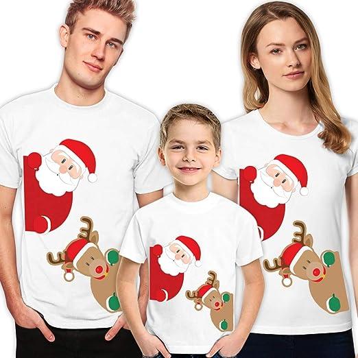 a3f7f13690 Matching Couple Shirts Christmas for Family Funny Men Women Boys Girls Kids  Disney T-Shirts