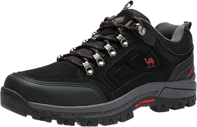 CAMEL CROWN Zapatillas de Senderismo Antideslizantes Zapatillas de Entrenamiento de Viaje Al Aire Libre para Caminar Escalar Trekking: Amazon.es: Zapatos y complementos