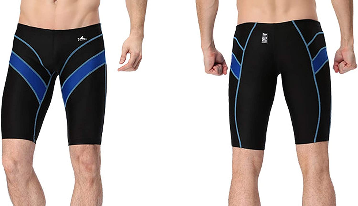 Yingfa racing /& training swim jammers for boys /& men FINA APPROVED Blue or Black