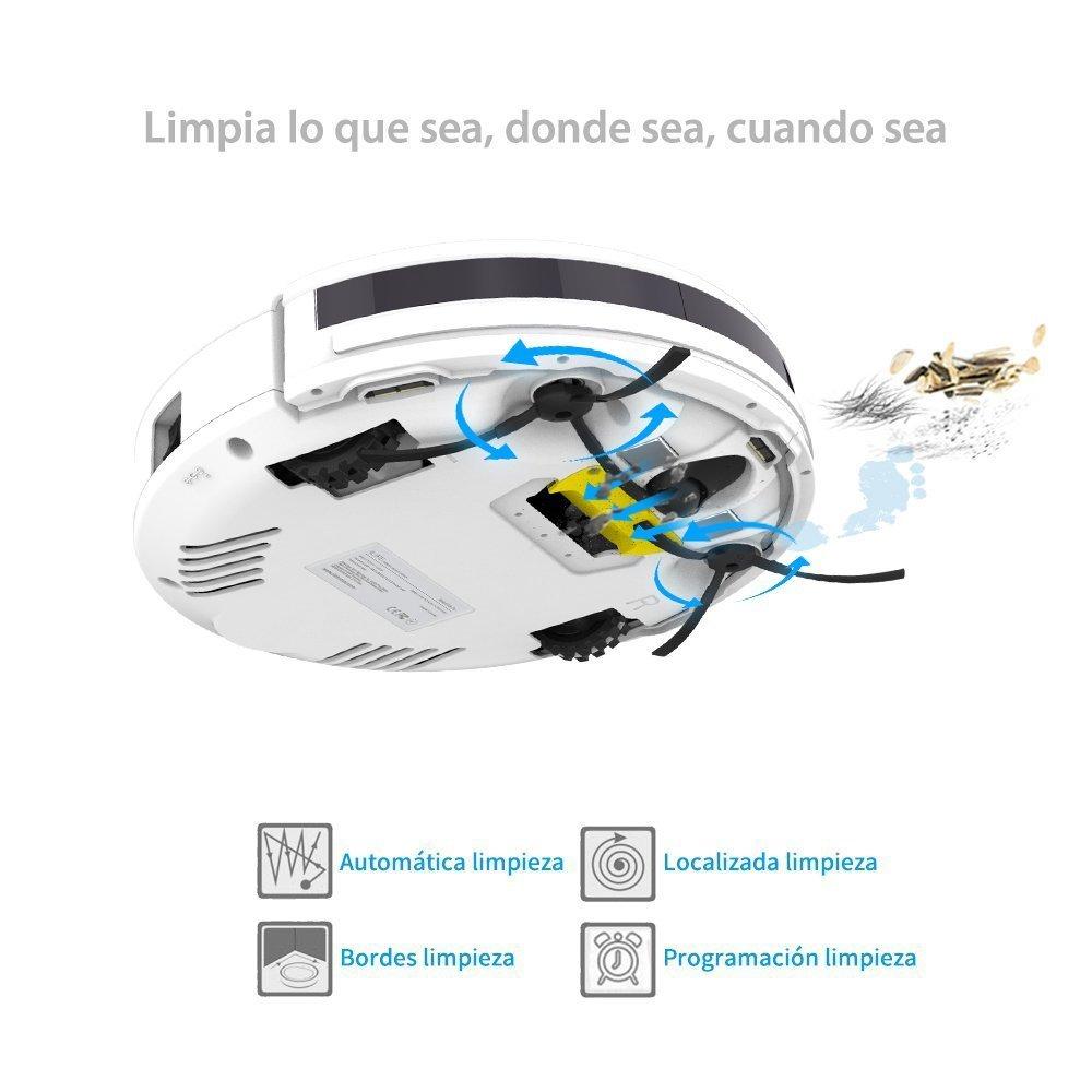ILIFE V3s Pro Robot Aspirador y Limpieza de Suelos, perla blanco. Ship from EU warehouse so no Customs problem: Amazon.es: Hogar