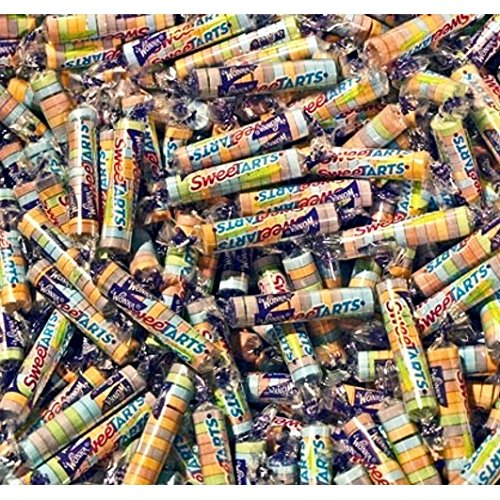 SweeTarts Mini Rolls Candy~ Bulk 2 Lbs ~ by Wonka