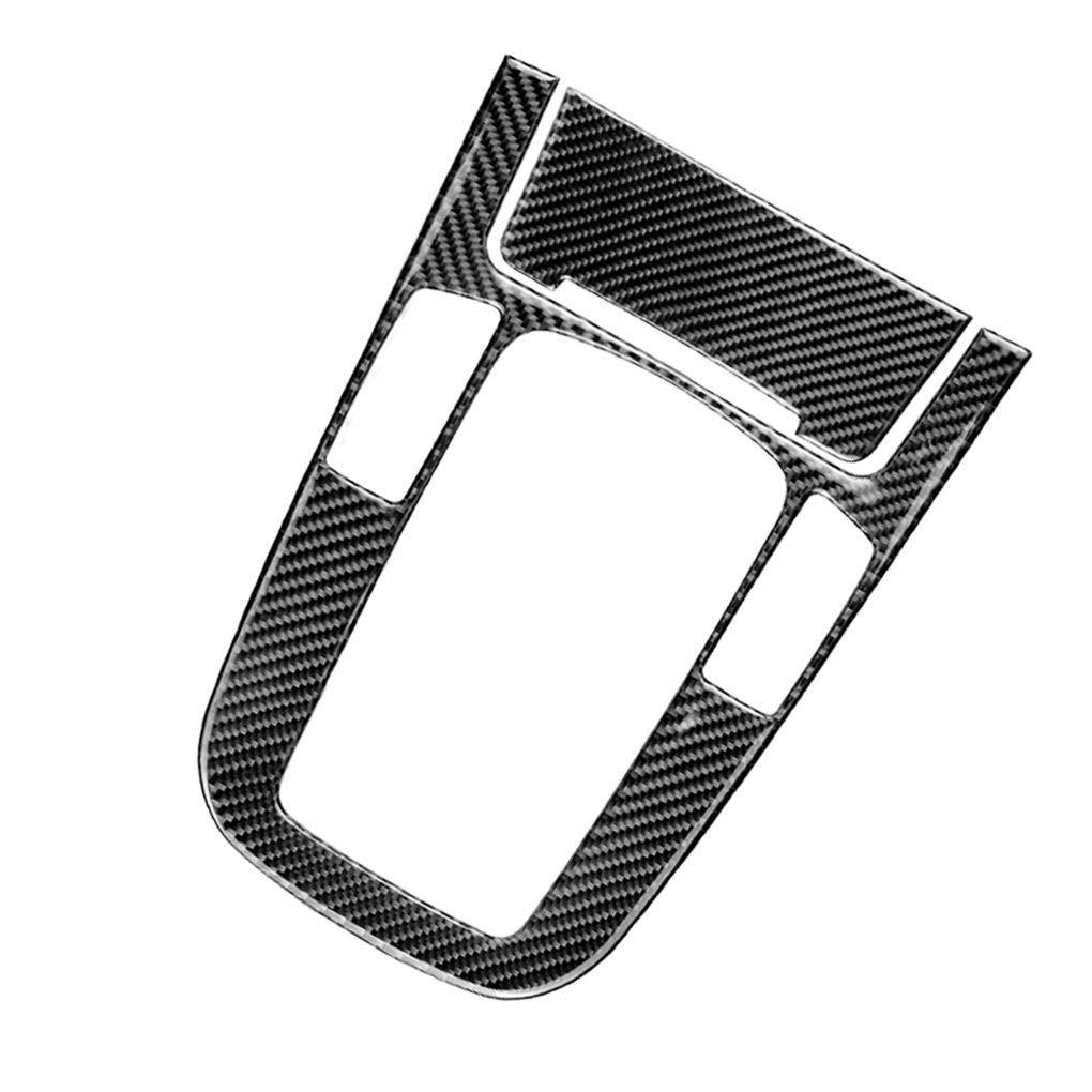 Pegcduu Sigaretta dellautomobile del Cambio in Fibra di Carbonio Pannello di Controllo di Copertura A Tipo Sticker Set replacemnt per A4 A5 Q5 B8 Q3 A6