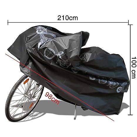 Funda Bicicleta,Funda para Bicicleta Impermeable NAKEEY Funda de Protección Bicicleta Funda Bici de Resistente Proteger Bici del Sol lluvia Polvo Anti UV ...
