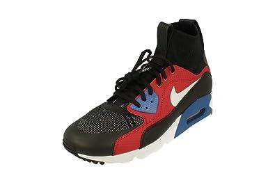 check out 6a3df 4115d Nike , Chaussons Montants Homme - Noir - Noir Blanc Rouge, 46 EU