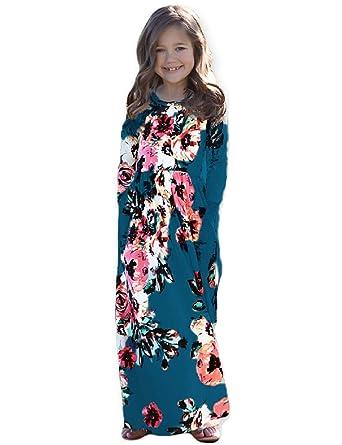 203d3d1d00bf Amazon.com  Girls Maxi Dress
