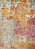 Island Collection Modern Contemporary Rugs Living Dinning Bedroom Area Rug 9' x 12', Multi