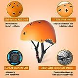 KORIMEFA Adult Bike Helmet Skateboard Helmet
