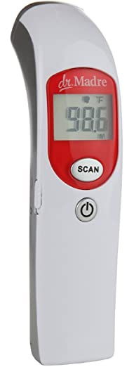 Medical Infrared Thermometer Pediatric Bilingual Fahrenheit Review