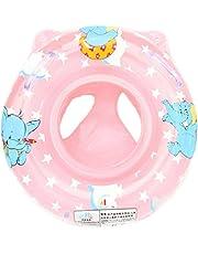 Isuper inflable flotador de bebé para niños y bebés, asiento de seguridad, piscina,