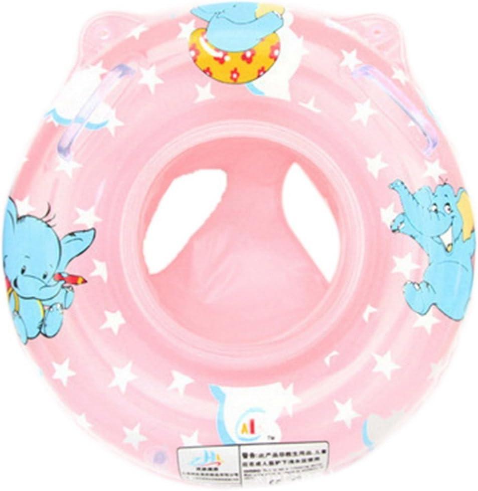 Isuper inflable flotador de bebé para niños y bebés, asiento de ...