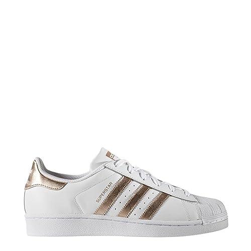 adidas Superstar W, Zapatillas de Deporte Interior para Mujer: Amazon.es: Zapatos y complementos