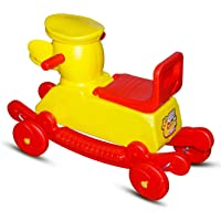 Banshika Toys Duck Baby Rider 2 in 1 Rocker Cum Riders for 2 Years Kids (Color May Very)