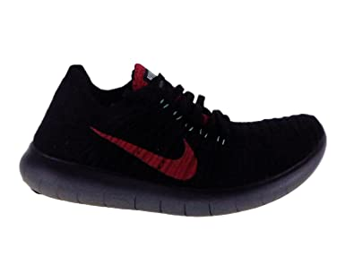 release date 4bca9 ecf07 Nike Mens Free RN Flyknit Night Maroon Purple Dynasty Green Glow Nylon  Running Shoes 8. 5 M US  Buy Online at Low Prices in India - Amazon.in