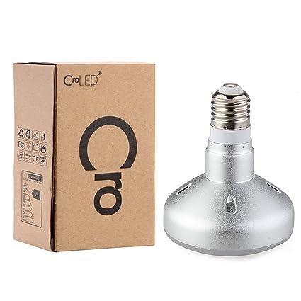 E27 R90 9W 18 LED 5630 SMD 6500K Lámpara Bombilla Foco Luz Blanco Bajo Consumo