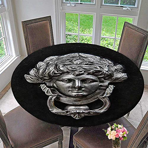 - PINAFORE HOME Round Tablecloths Antique Door Knocker or Everyday Dinner, Parties 59