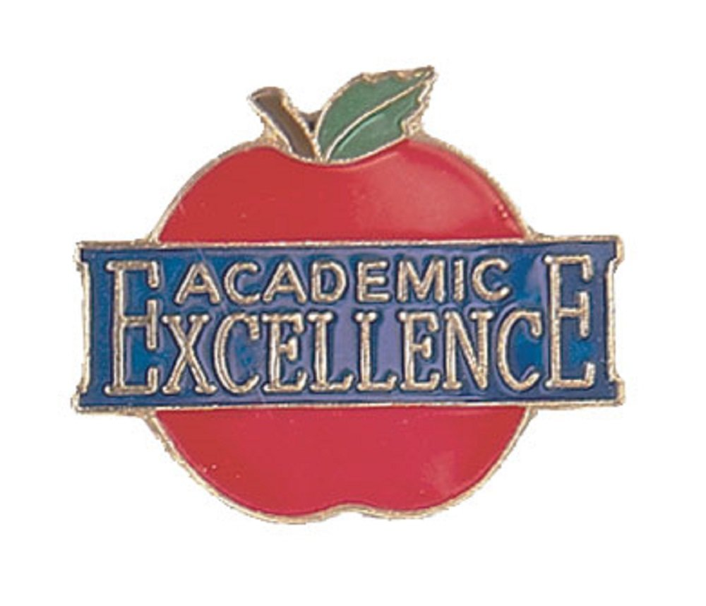 Pack of 250 Academic Excellence Lapel Pins