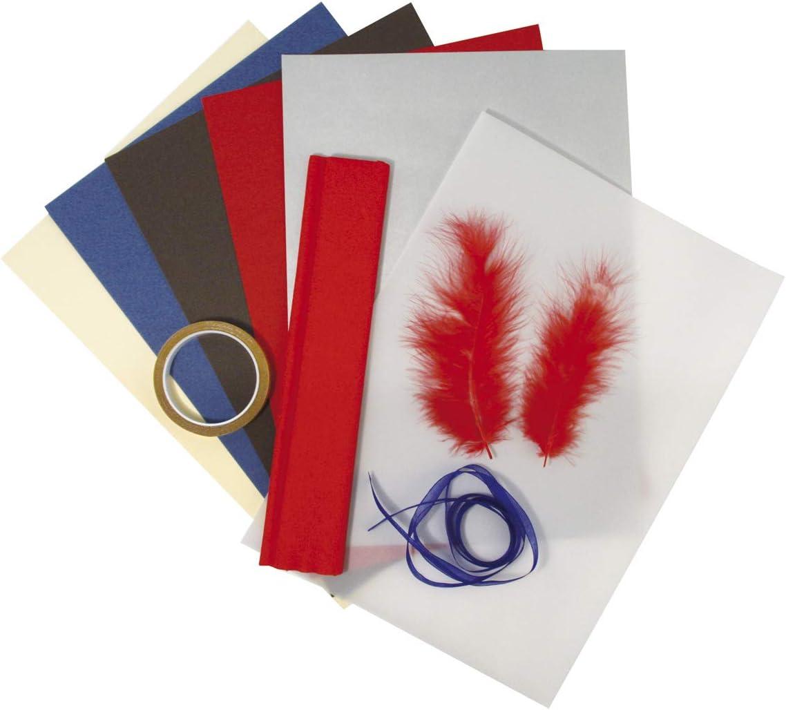 Rayher 7134700 kit de D/écoration Id/éal pour Offrir avec Motif Cheval