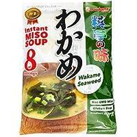 Marukome Ryotei No Aji Instant Miso Soup With Wakame 8P, 156g