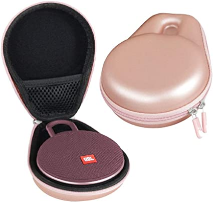 Pink JBL Clip 3 Portable Waterproof Wireless Bluetooth Speaker