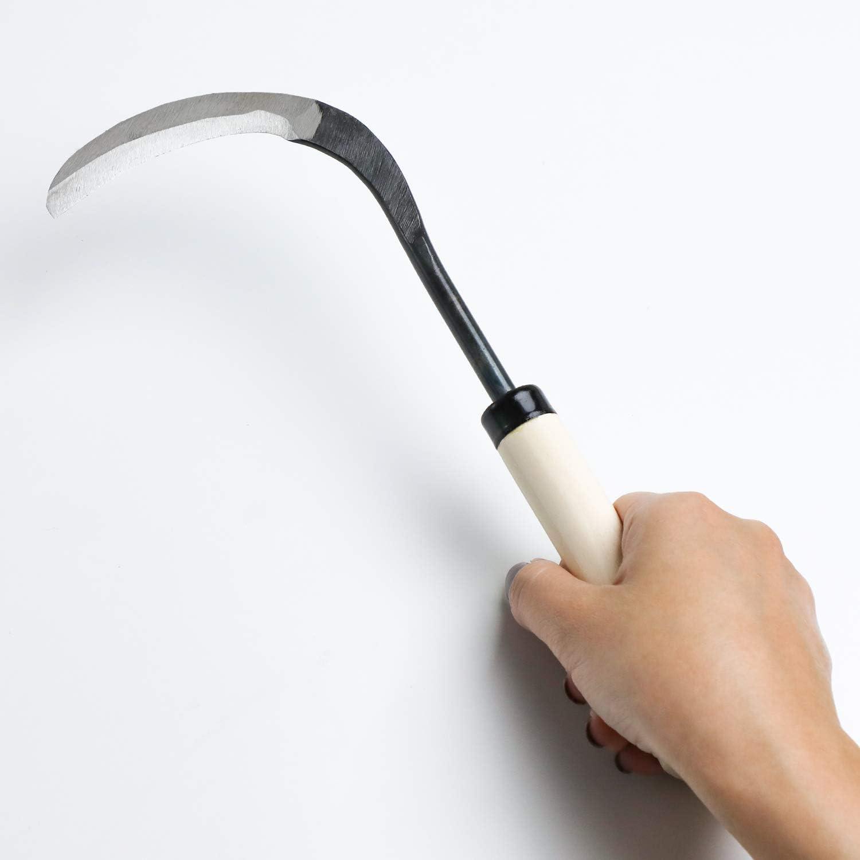 3inch Wazakura Bonsai Repotting Sickle Made in Japan Blade Japanese Gardening Tool for Transplant 75mm