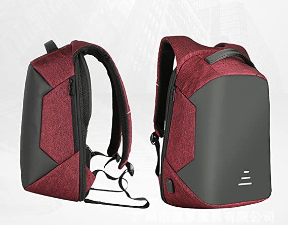 Amazon.com: MXiang Anti-theft Business Laptop Backpack with USB Charging Port Fits to 15.6 Inch Laptop (red): Computers & Accessories