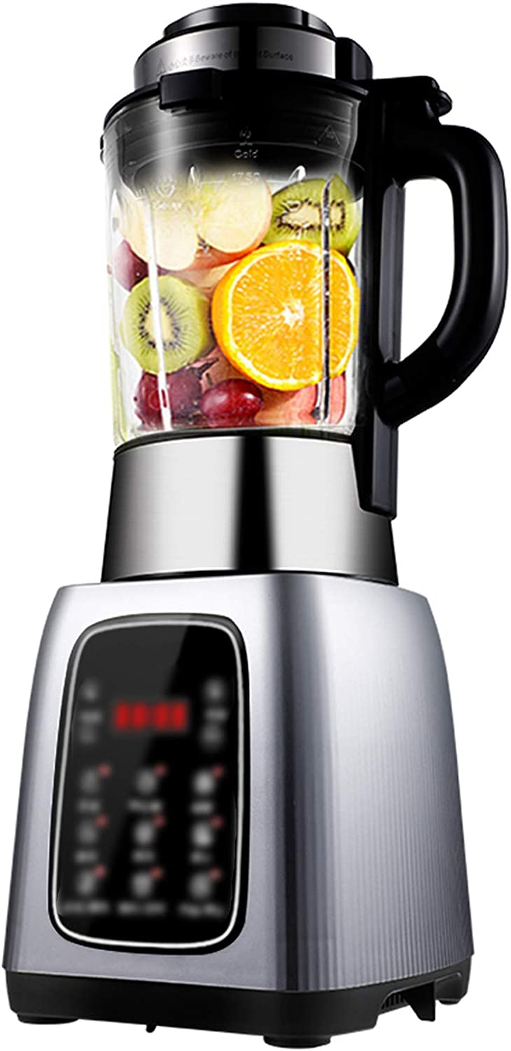 HEN'GMF Compact Personal Blender, 800 Watts 1,75 Liter Blender with Blend Smoothie Cup, Multi-Function Blender with Glass Jar