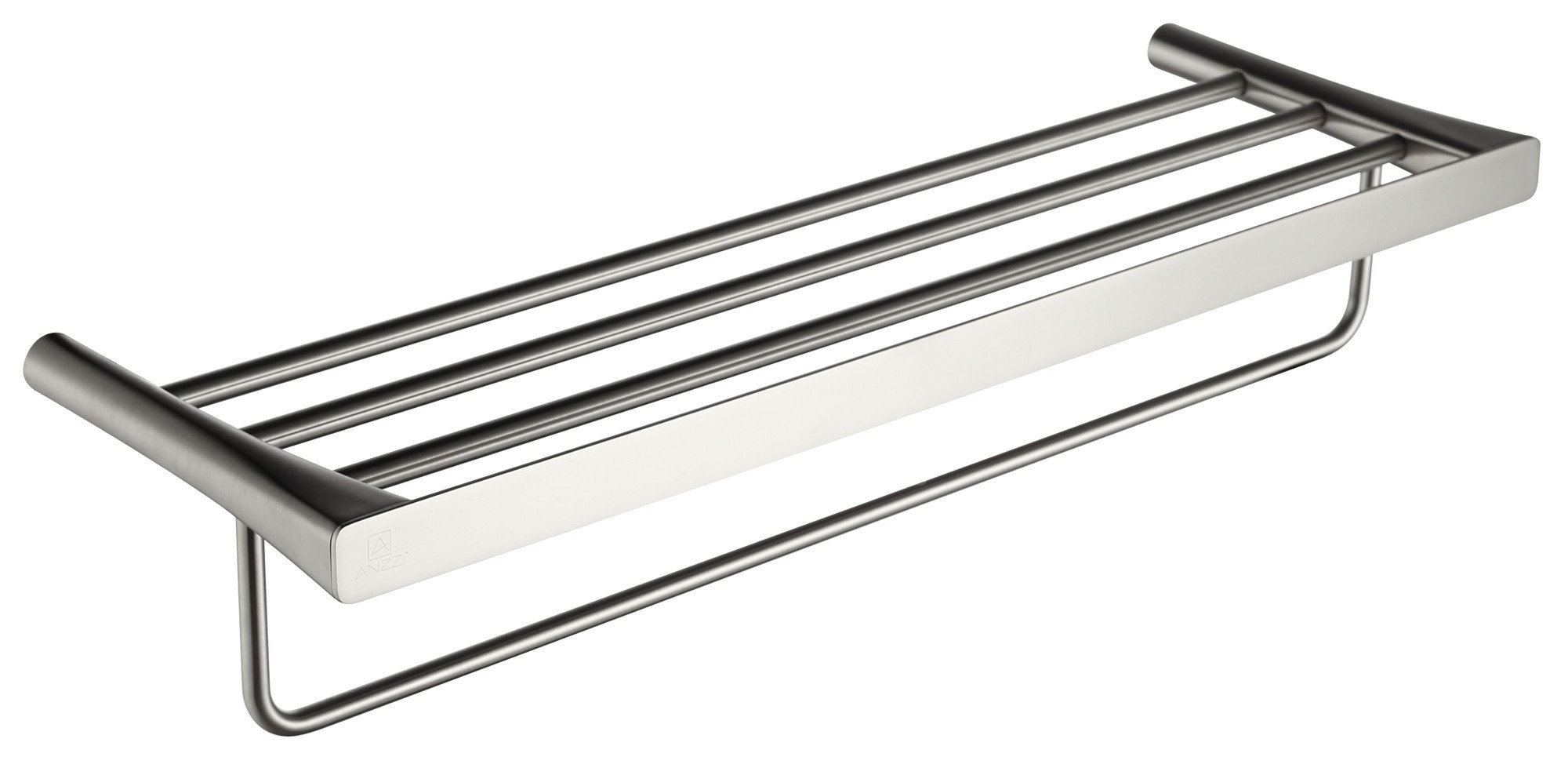 25.13'' Towel Bar - Brushed Nickel - Caster 3 Series AC-AZ058BN - ANZZI