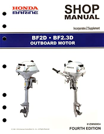 amazon com honda bf2 bf2 3 marine outboard service repair shop rh amazon com Bf 2 High Graphic Boss Bf 2 Settings