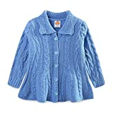 Product review for UWESPRING Little Girls Knit Dress Coat Ribbed Wool Sweaters Cardigan