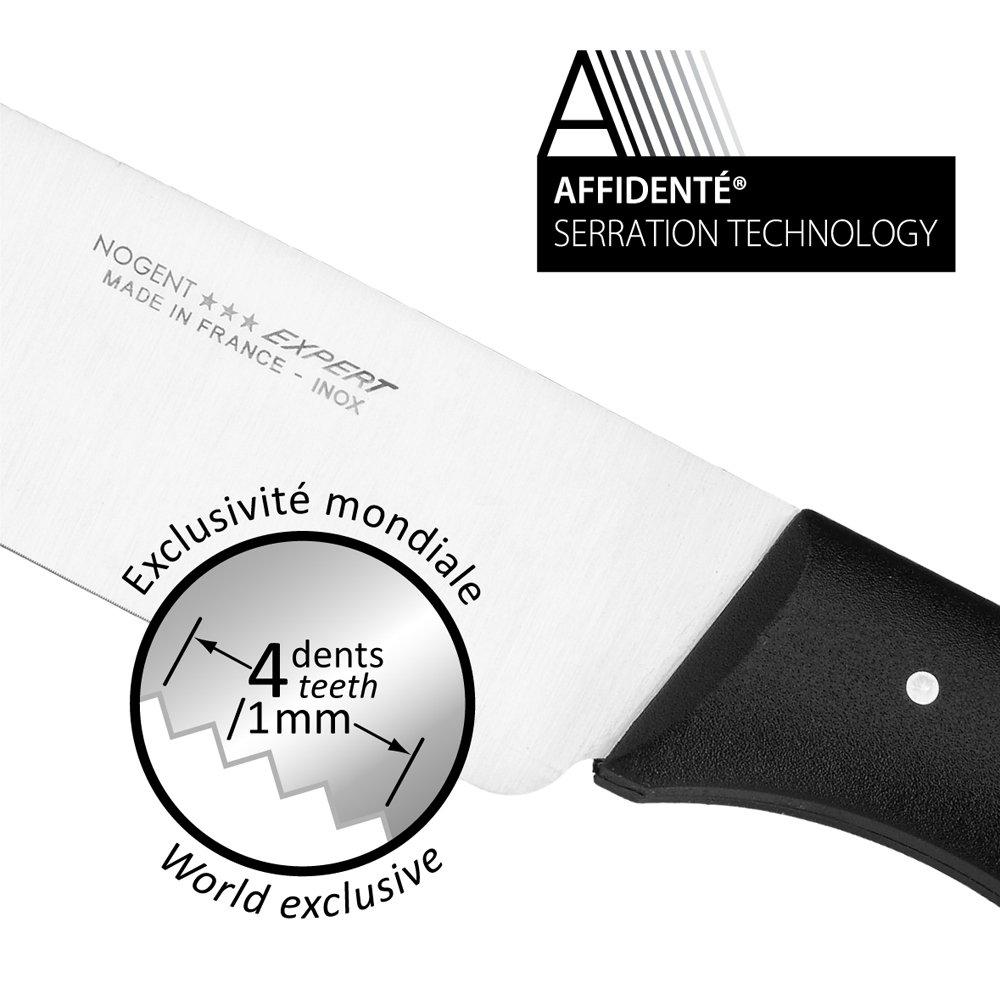Nogent Expert 3-1/2-Inch Paring Knife, Black Polypropylene Handle by Nogent (Image #3)