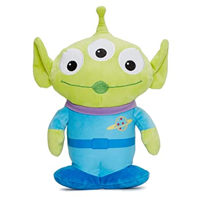 Disney 37272 Pixar Story 4 Alien Soft Toy in Gift Box 25 cm, Green: Toys & Games