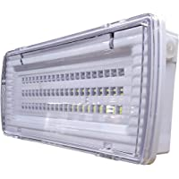 Luz de Emergencia LED estanca 8w. IP65, superficie