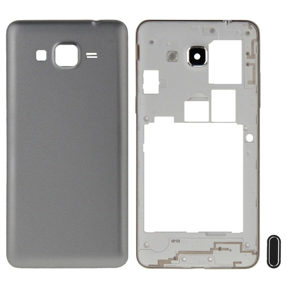 6e8c4ce32b88 iPartsBuy Full Housing Cover Replacement(Middle Frame Bazel + Battery Back  Cover) + Home
