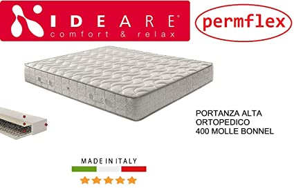permflex, Materasso IDEARE Parigi Ortopedico 400 Molle Ergonomico ...