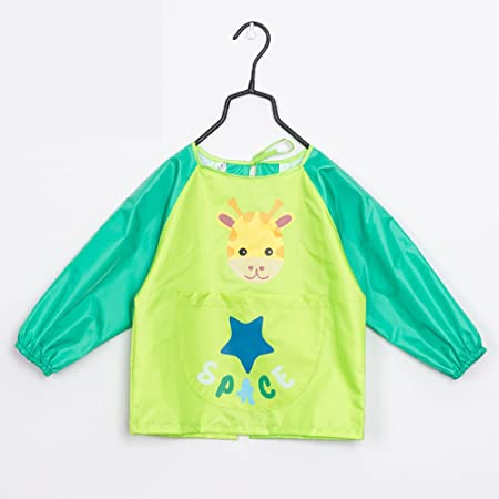 Amazon.com: Kids Pintura – Delantal Impermeable Arte Smock ...