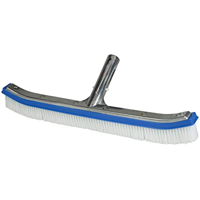 Poolmaster 17-1/2-Inch Aluminum Swimming Pool Brush, Essential Collection : Swimming Pool Brushes : Garden & Outdoor