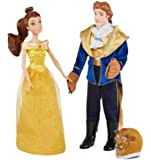 """Disney Collection Beauty & The Beast Classic 12"""" Doll Set ~ Belle & The Beast"""