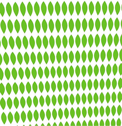 (200 Count) Sheet of Leaves, Green Peel-N-Stick Decal Leaves for Family Tree Wall Decal]()