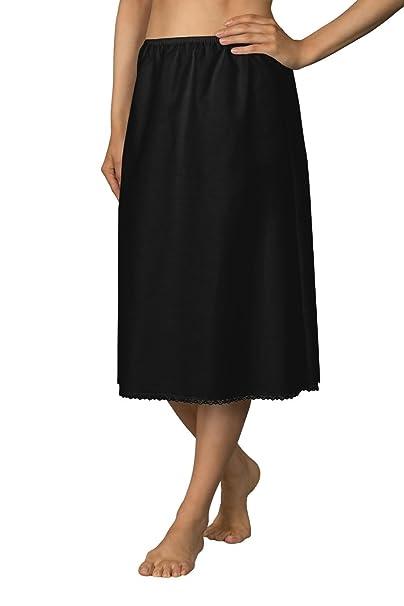 50a4f42ca0b9 Shadowline Women's 30 Inch Flare Half Slip Black MEDIUM at Amazon Women's  Clothing store: Apparel Half Slips