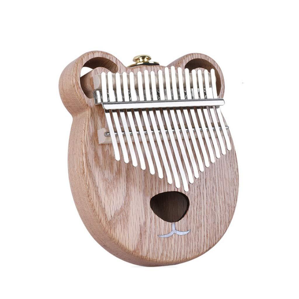Marimba Kalimba 17 Keys Thumb&Finger Piano Marimba Hollow Wood Easy To Carry Marimbas (Size : D) by ZJY