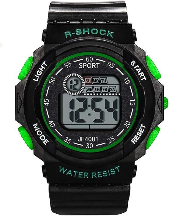 Yivise Reloj Digital Deportivo Multifuncional Impermeable para ...