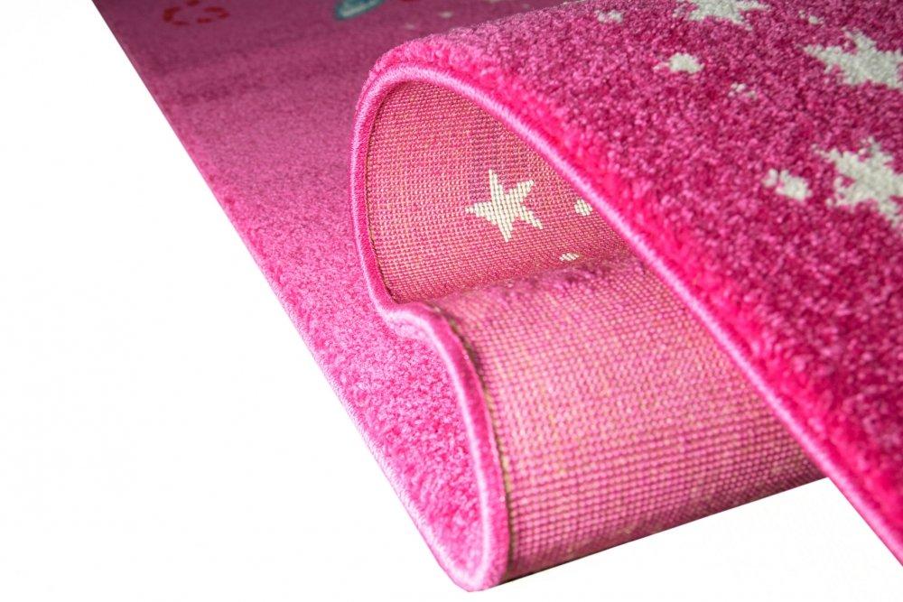 Kinderteppich Spielteppich Kinderzimmer Mädchen Zauberfee Fee Tinkerbell Pink Größe 120x170 120x170 120x170 cm a9fba6