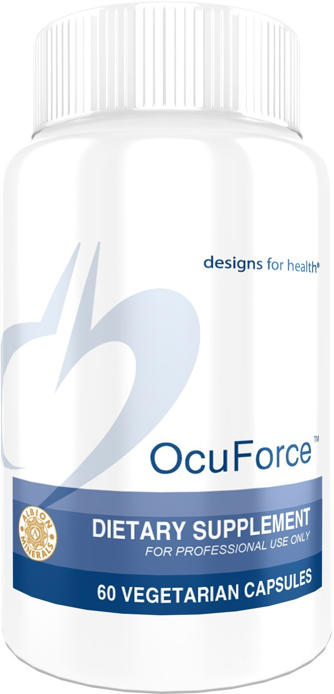 Designs for Health Lutein + Zeaxanthin for Eye Support - OcuForce (60 Capsules)