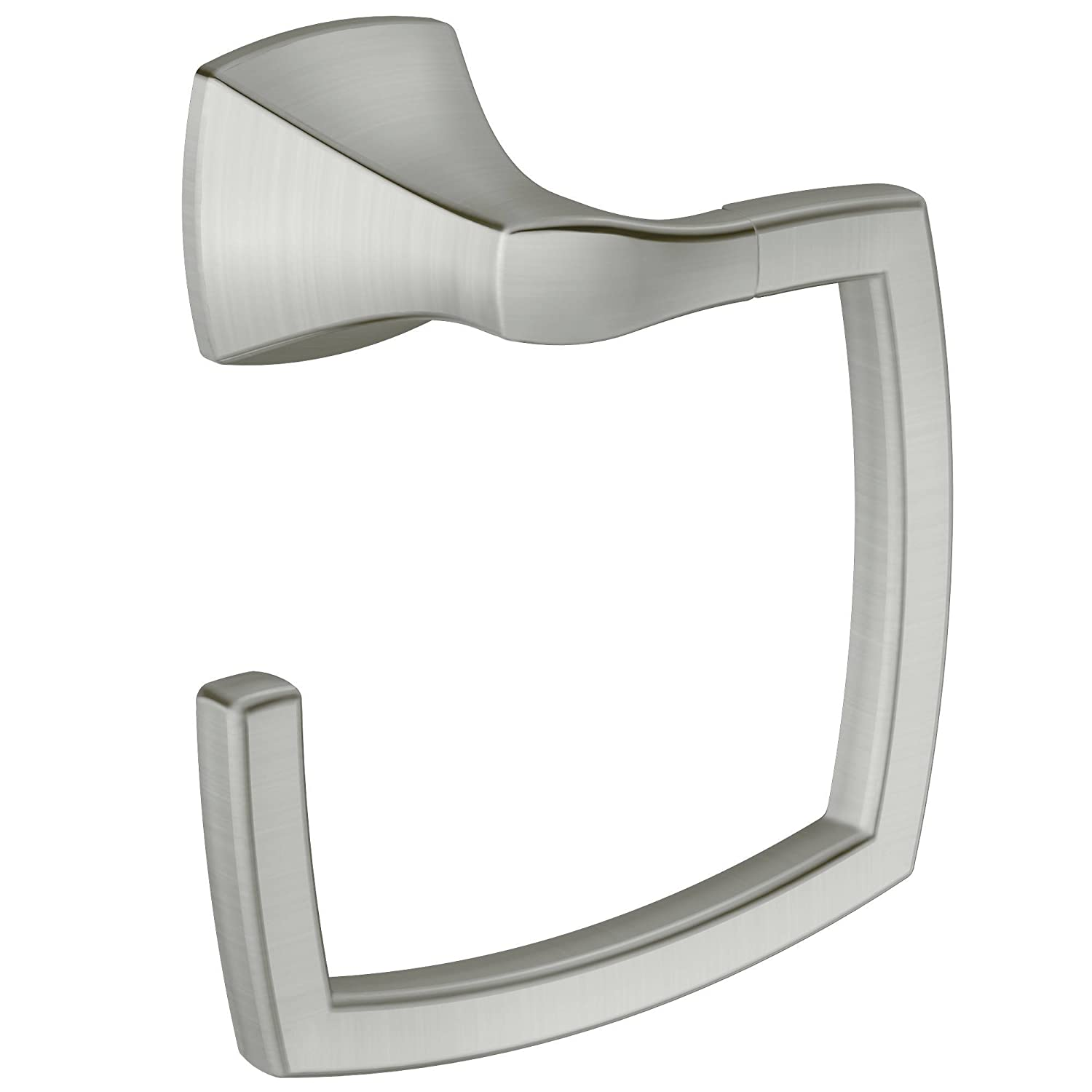 Moen YB5186BN Voss Bathroom Towel Ring, Brushed Nickel   Moen Voss Brushed  Nickel   Amazon.com