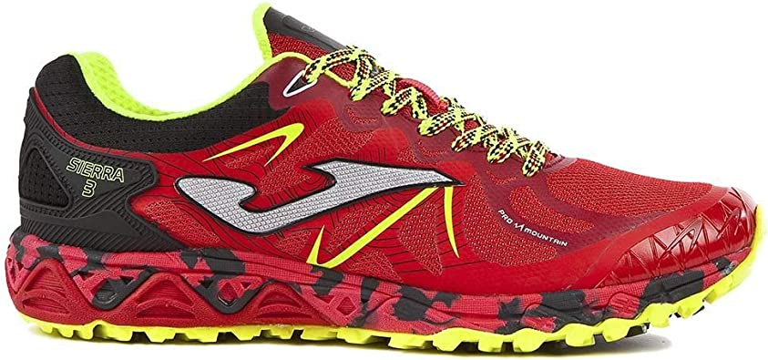 Joma - Zapatillas trail Joma Sierra 3 - Rojo, 41 EU: Amazon.es ...
